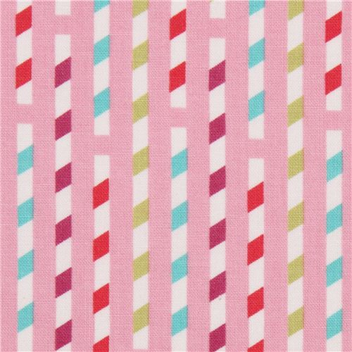 pink-straw-stripes-pattern-fabric-by-michael-miller-usa-197576-2