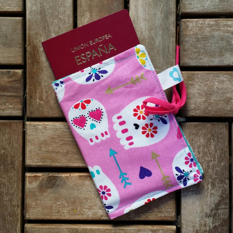 Funda para pasaportes